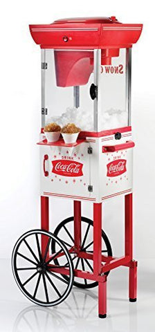 Nostalgia Electrics Coca-Cola Series SCC399COKE Snow Cone Cart by Nostalgia Electrics