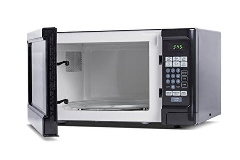 Westinghouse WCM11100B 1000 Watt Counter Top Microwave Oven, 1.1 Cubic Feet,  Black Cabinet