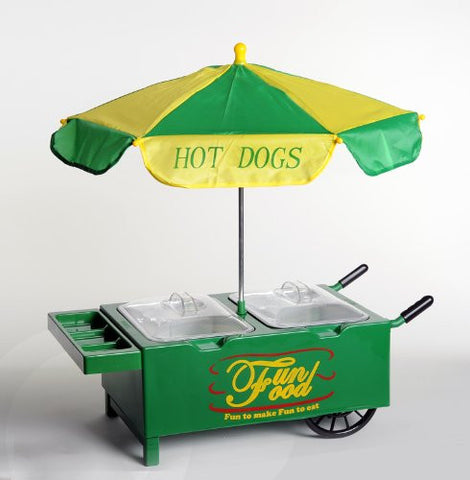 Old Fashioned Hot Dog Cart Table-Top