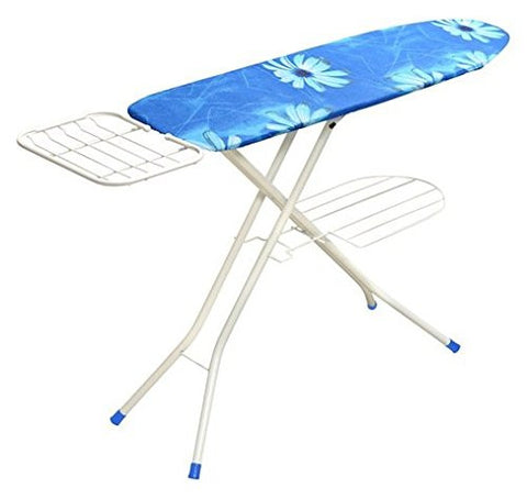 YBH Home 1548-16 Sturdy Collection Deluxe 4-leg Ironing Board with Steel Mesh Top 15 X 48 Inch