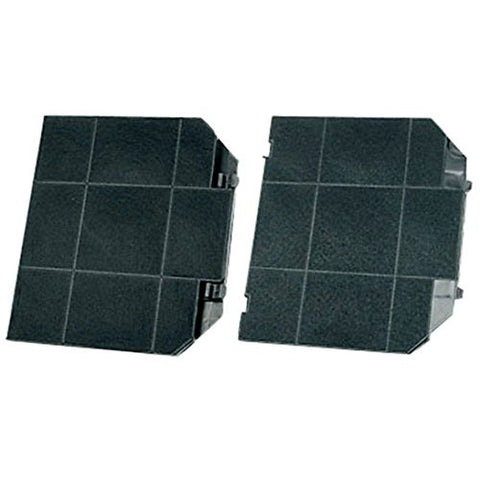 Spares2go Carbon Charcoal Filter For John Lewis Cooker Hood Vent Extractor 2 Carbon Filters