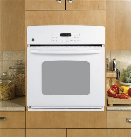 "GE JKP30DPWW 27"" White Electric Single Wall Oven"