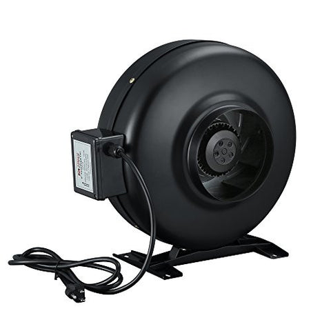 6 inch Hydroponics Exhaust Fan Inline Cooling Duct Fan