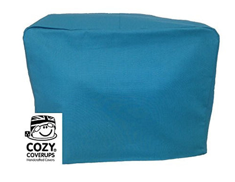 CozyCoverUp for Dualit Toasters 100% cotton Handmade in the UK (Teal Blue, 4 Slice Clasic New Gen)