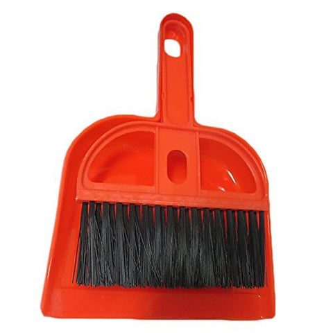 DCS Dust Pan Hand Sweeper Standard Red
