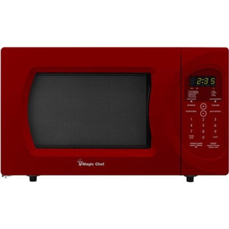 Magic Chef 0.9 Cubic Foot Microwave .Model:MCD992R /Color:Red