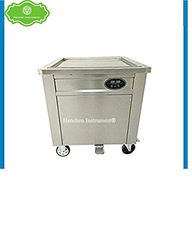 Thai fried Ice cream roll maker making machine for fruit,ice,milk,yogurt with control panel (110V)