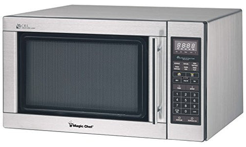 Magic Chef MCD1611ST Stainless Microwave, 1100 W