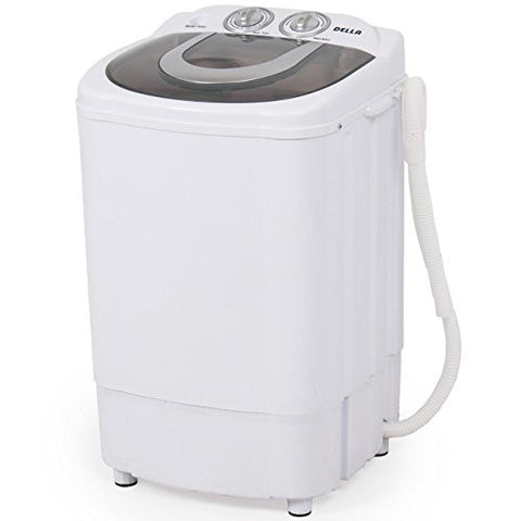 Della Mini Portable Washing Machine Spin Wash 8.8 Lbs Capacity Compact Laundry Washer for Clothes, Garments