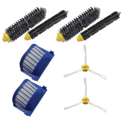 LOVE(TM)2 Aero Vac Filters & 2 3-Armed Side Brushes &