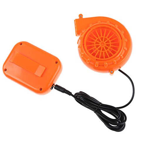 Mini Fan Blower - TOOGOO(R) Mini Fan Blower for Mascot Head Inflatable Costume 6V Powered by Dry Battery