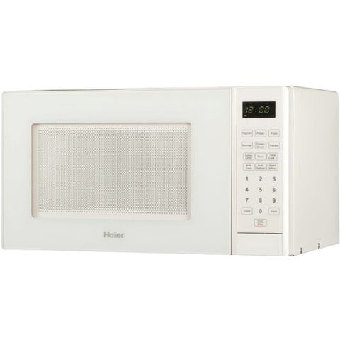 0.9 Cu. Ft. 900W Countertop Microwave Color: White