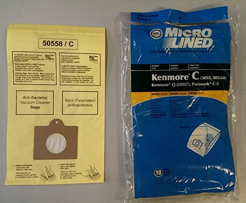 Home Care Products Kenmore 5055/50558 Micro Lined Paper Vacuum Bag, 20-Pack