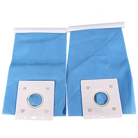 Efficiency Dust Bag, Essort 2PCS Non-woven Central Vacuum Cleaner Bags, Long Term Filter Bag, Upright Vacuum Bags