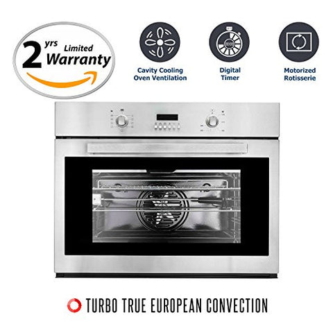 Cosmo COV-309D Stainless Steel Electric Wall Oven