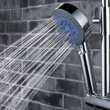 Man Friday 5 Mode Multi Function Chrome Adjustable Water Shower Head