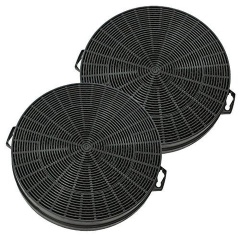 Spares2go Carbon Charcoal Filter For Siemens Cooker Hoods / Kitchen Vents Pack Of 2