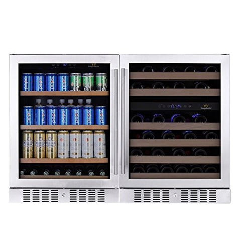 3-Zone Beverage and Wine Cooler Combo 145COMBOBW3