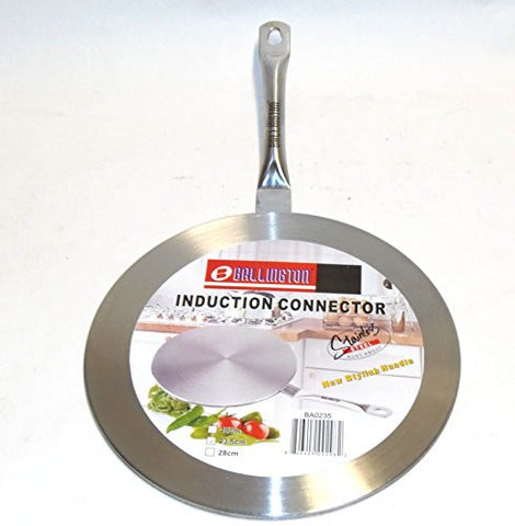 "11"" Stainless Steel Induction Cooktop Converter Interface Disc"