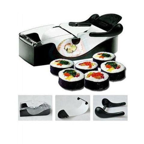 Oi Max Perfect Kitchen Magic Roll Sushi maker Roller Machine Gadget