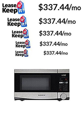 Daewoo .7 Cu Ft Microwave, Stainless Steel