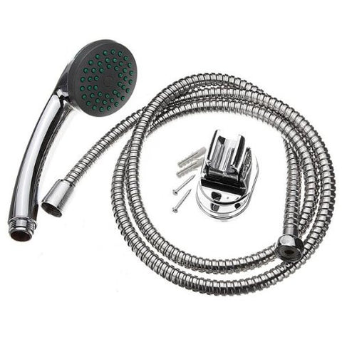 Pakhuis Multi Function Chrome Water Shower Head Set With Tube Accessories