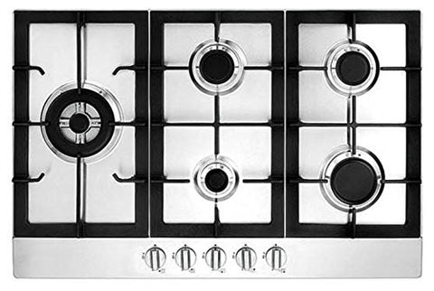 "Ancona 5 Burner 30"" Stainless Steel GAS Cooktop"