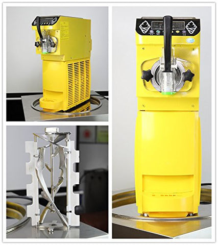 mini single flavor ice cream machine