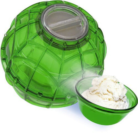 YayLabs Play and Freeze Ice Cream Ball Ice Cream Maker, Pint, Green by YayLabs!