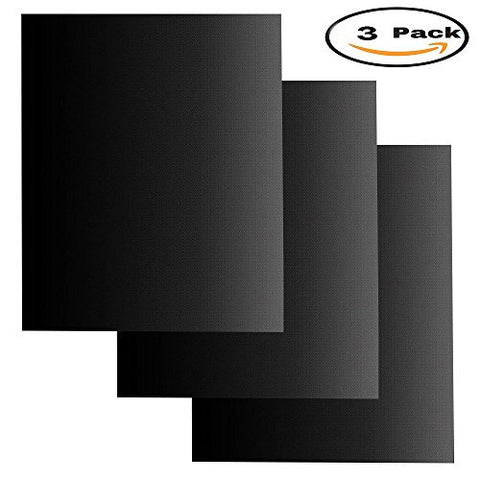 Mydio 3 Pack Non Stick Mat Oven Liners,Kitchen Cooking Accessories,Easy to  Clean
