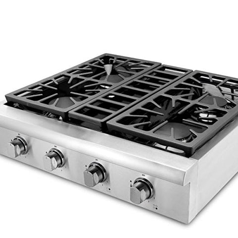 "30'' Thor Kitchen Gas Range Top /Cook Top 30"" W x 27.5"" D x 8.5"" H HRT3003U"
