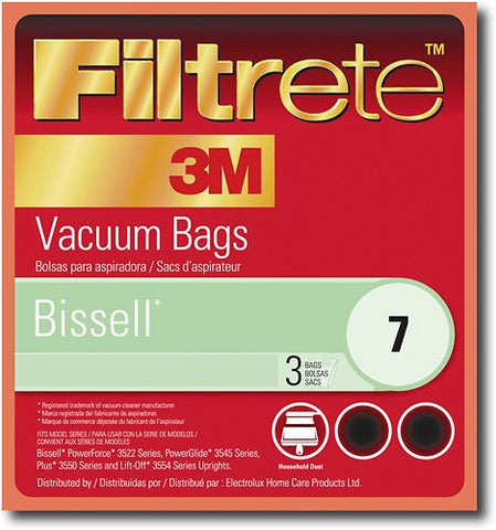 Bissell 7 Allergen Bag (3-Pack)