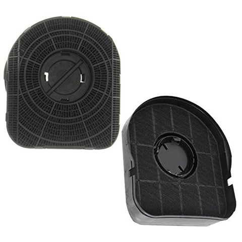 Homark Type 200 Cooker Hood Carbon Charcoal Extractor Filters Pack Of 2