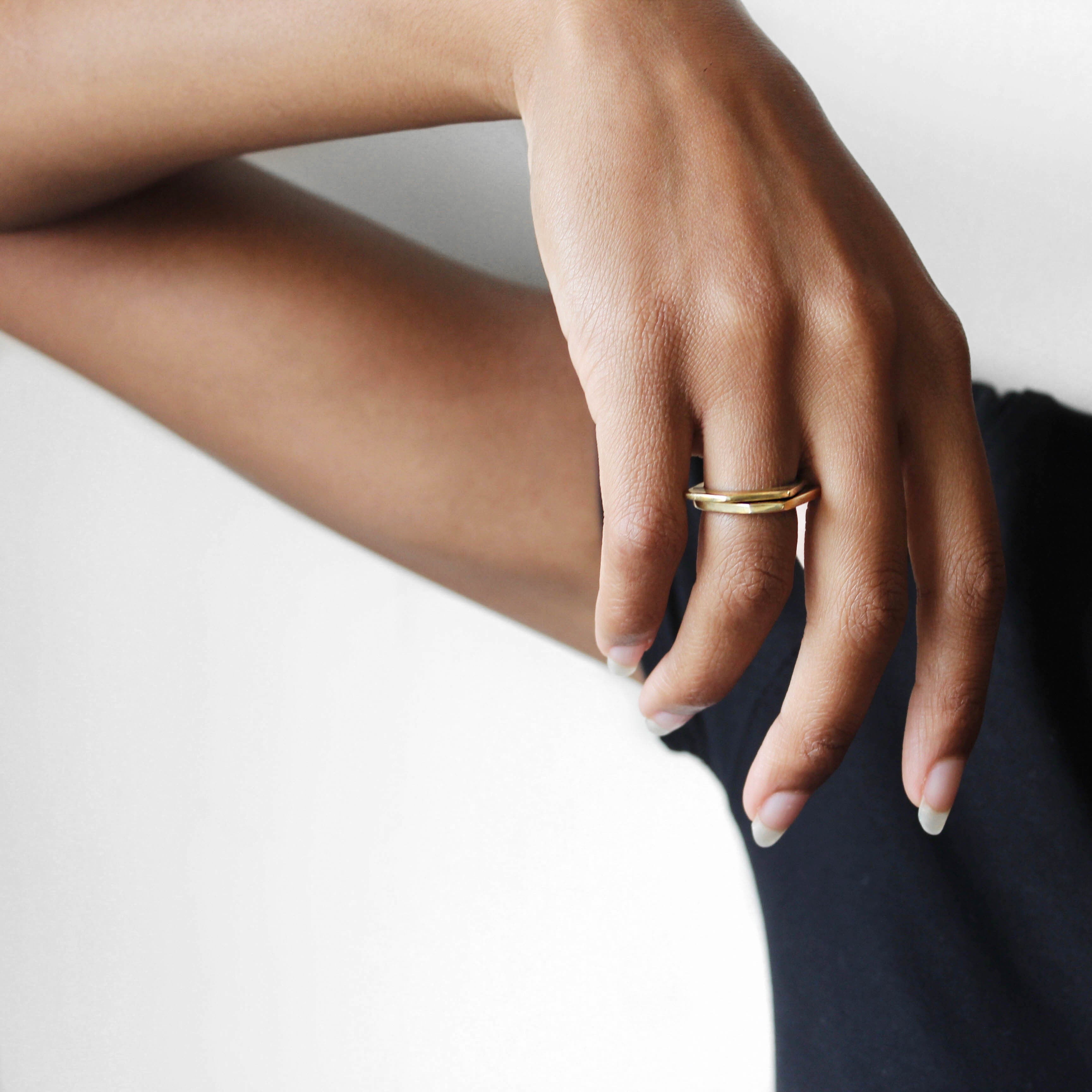 Milima Duo Stack Rings