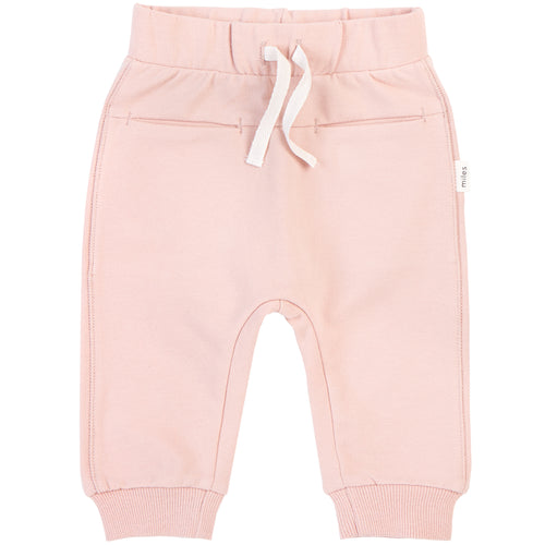 Miles Basic Light Pink Jogger