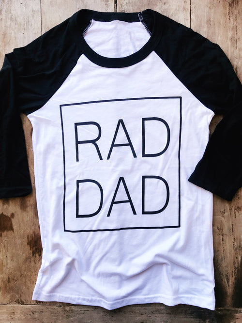 Rad Dad Raglan *presale