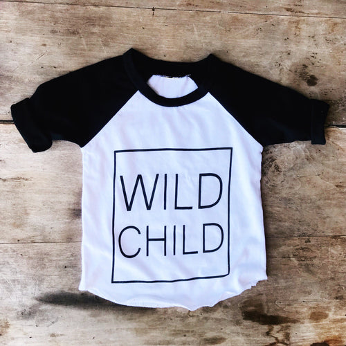 Wild Child Raglan *presale