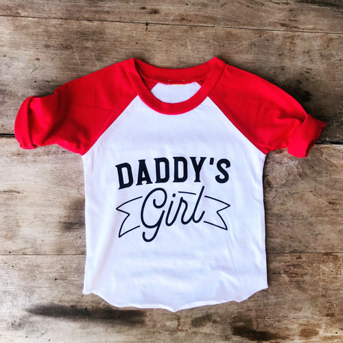 Daddy's Girl Raglan *presale