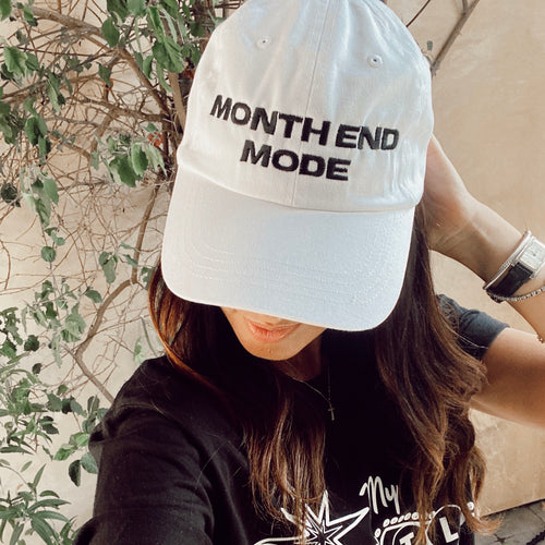 Month End Mode Hat