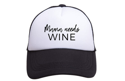 Mama Needs Wine Hat