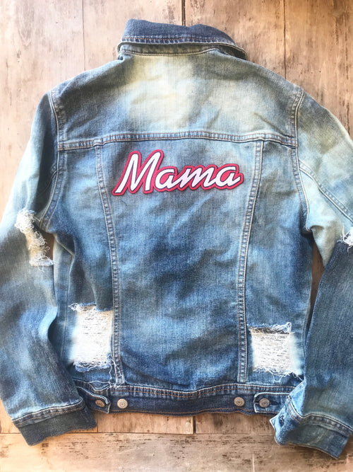 Adult Custom Denim Jacket