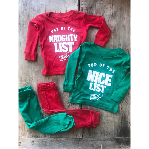 Top of the Nice/Naughty List PJ Set