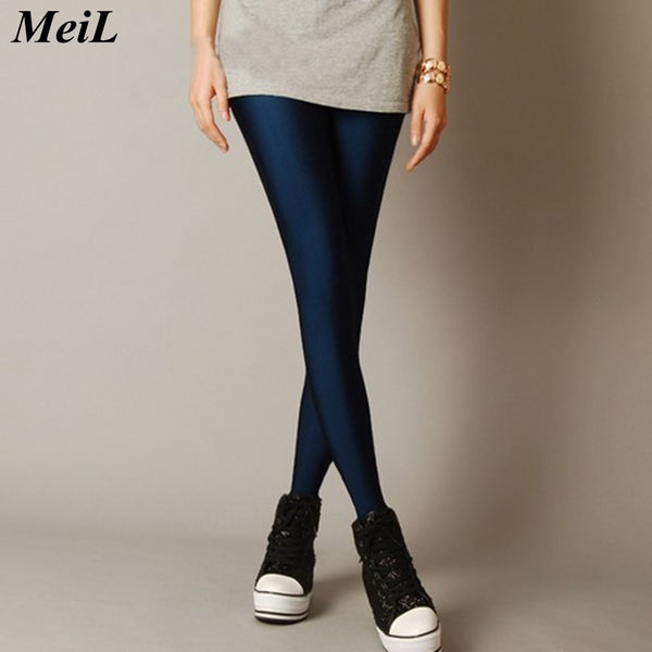 MeiL Multiple Color Neon Leggings for Woman Adventure Time for  Paint Legging Fashion Sexy High Elatisc Leggins for Woman