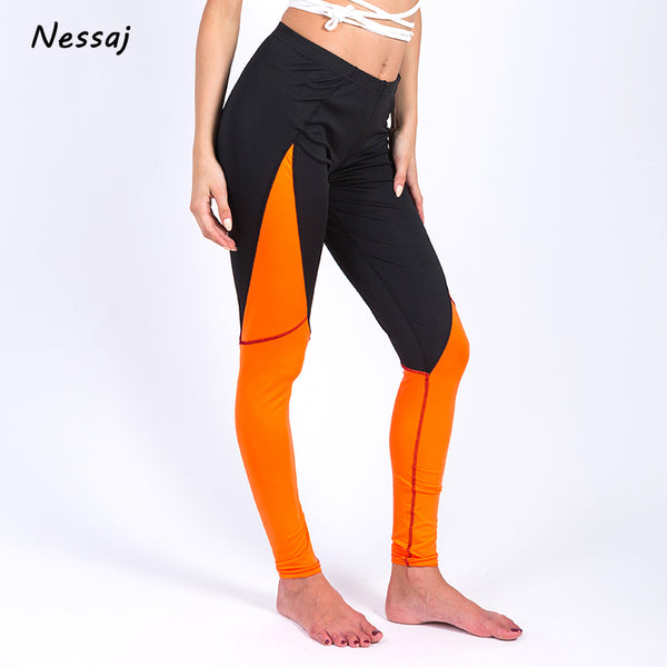 2017 Nessaj Women Leggings For Female High Waist Fitness Pants Legging Workout Mesh Leggings Bodybuilding Clothes Body Shapers