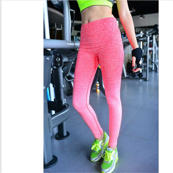 New sexy women Exercise solid mesh breathabn's Workout Leggings Fitness Elastic Slim Leggings Female Leggings Pants for woman