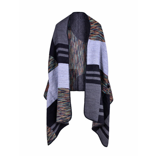 Brand 2017 autumn and winter women poncho and cap knit cashmere scarves for lady warmer pashmina female shawls Blanket echarpe
