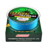 100M PROBEROS 4 Strands Braided 6LB to 100LB Multifilament Fishing Line