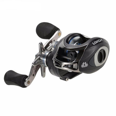 LIXADA 11 Ball Bearings, GR 6.3:1 Hand Baitcasting Reel