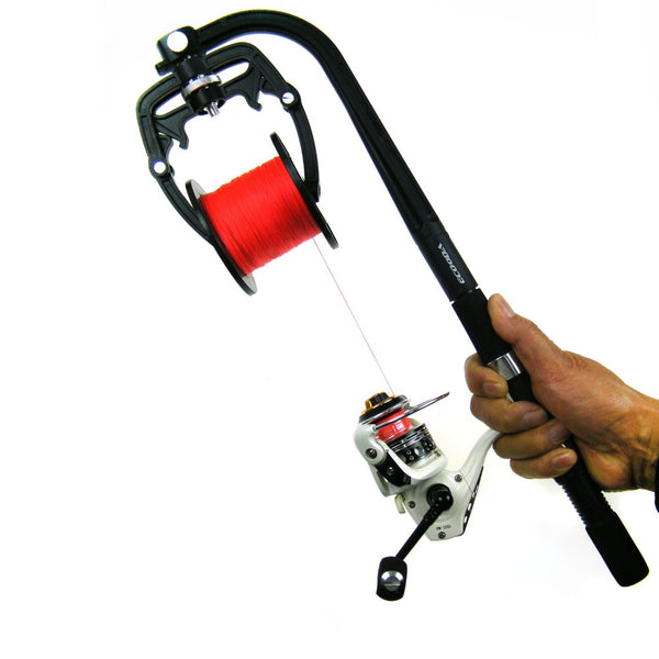 Portable Fishing Line Spooler