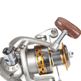 12BB 5.1:1 GR Spinning Fishing Reel with Anti Twist Line Roller